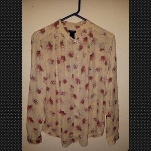 Women long sleeves blouse, brand Ann Tylor☺
